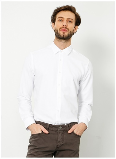 Fabrika Fabrika 317 Beyaz Erkek Gömlek Beyaz